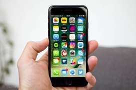 Apple iPhone7.Jet Black Colour.