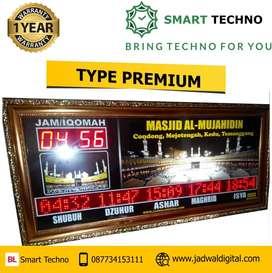 Jam Digital Masjid Type Premium Untuk Kota Cirebon
