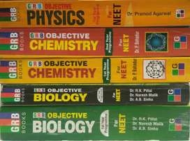 GRB Books Complete Package Of PCB For NEET/AIIMS.