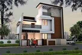 82 lakhs new villa sale in vadavalli