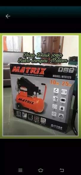 Dian teknik jogja buka smp mlm //kompresor matrix 1 hp 25 ltr
