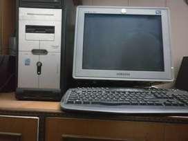 EXCELLENT CONDITION ASSEMBLED SAMSUNG DESKTOP COMPUTER