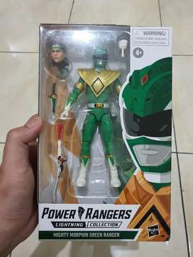 Power Rangers Lightning Colletion - Green Rangers