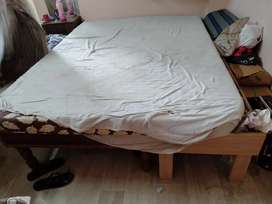 Double bed joint