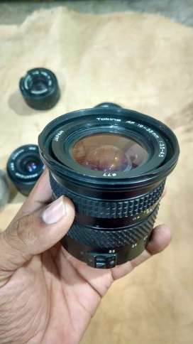 Tokina 19 - 35 mm f3.5 4.5 auto for canon & manual for sony
