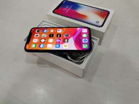 Apple iPhone X 256 Gb Gery Colour with Box And Kit