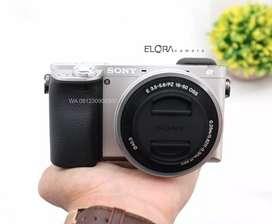 Kredit kamera sony A6000 proses 3 menit promo free 1X cicilan