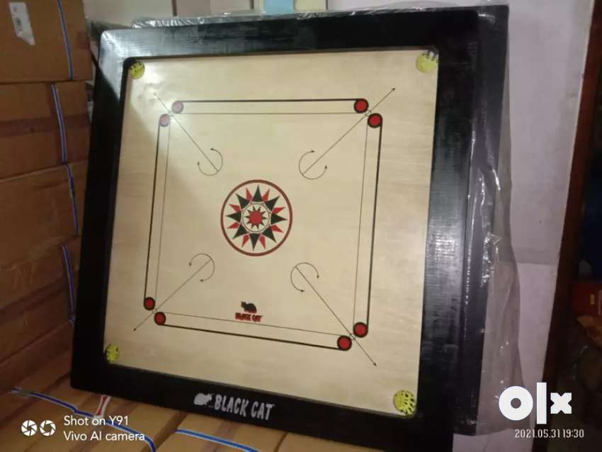 Tournament carrom board available