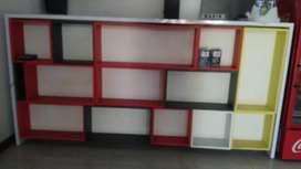Meja kasir incld laci dan rak (NEGO)