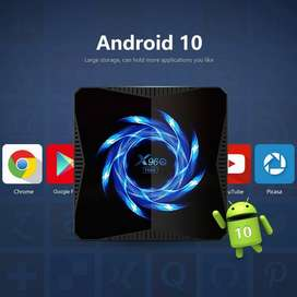 X96Q Max [4g-32g][4g-64g] OS 10   Android Tv Box   900+ Tv Channels