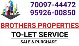 Owner free East facing 2bhk portion available