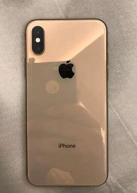Iphone xs 256gb gold in warranty till feb