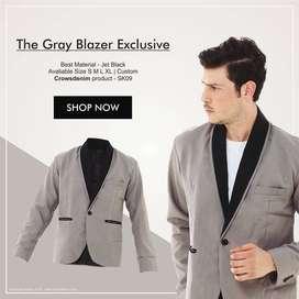 Slim Fit Korean Blazer SK09