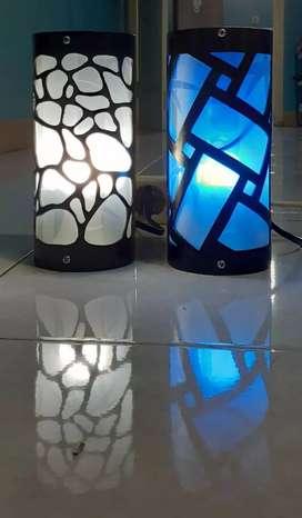 Lampu hias motif batu