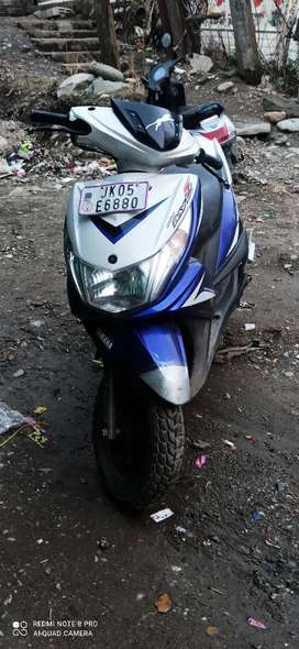 Yamaha ray z well maintained new tyres scooty is in good condition