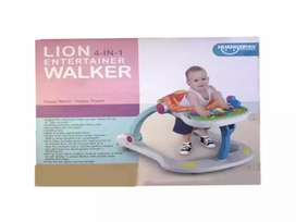 Lion 4 in 1 Entertainer Walker