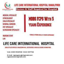 Doctors & Medical staff Required