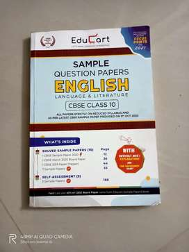 Class 10th CBSE English sample question papers