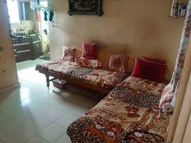 1 BHK well maintained road side view flat for sale.