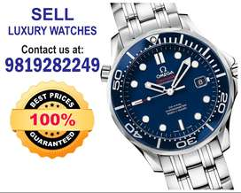 Seller for Rolex GMT Breitling, Audemars,Vacheron, Omega Watch buyers