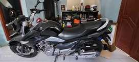 Suzuki Inazuma 250 cc 2013 double muffler