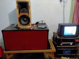 speaker aktif satu set