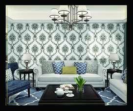 Wallpaper dinding wallpaper minimalis DL444