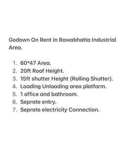 Godown on Rent