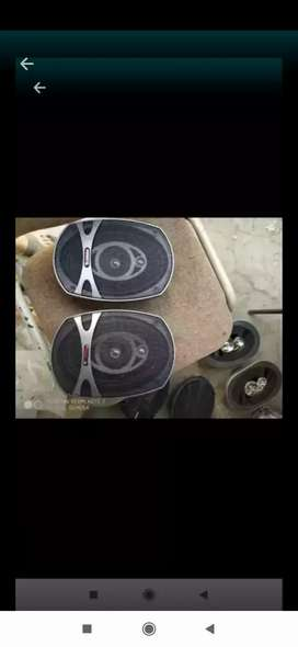 Speaker oval boston