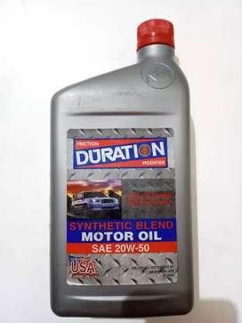 DURATION MOTOR OIL [OLI MOBIL]