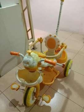sepeda becak anak