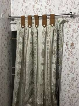 Curtains for complete Room. 6 Pieces