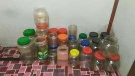 22 Toples Plastik, 7 Toples kaca, dan 2 tempat tisu plastik