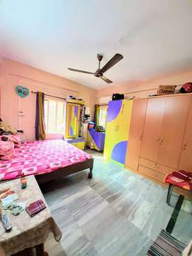 It's a wonderful 2bhk flat with 2 bathrooms.