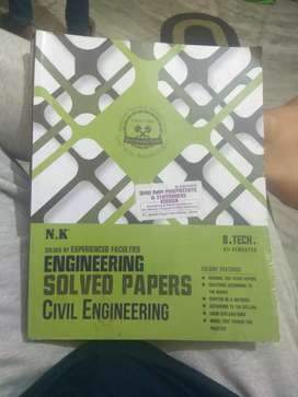 Civil engineering solved papers By N.K.