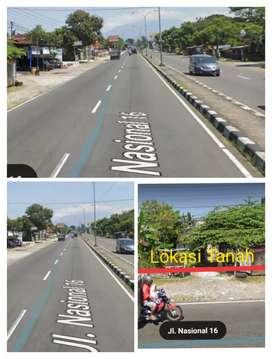 Tanah Bagus utk Gudang 600m2 tepi Jln raya Solo Boyolali 3,5jt/m2