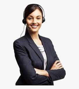 Tele caller & office assistant female only
