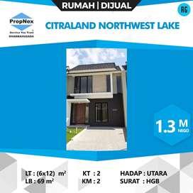 DIJUAL RUMAH BARU GRESS NORTHWEST LAKE CITRALAND