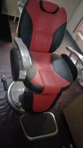 Beauty parlour unisex adjustable chair