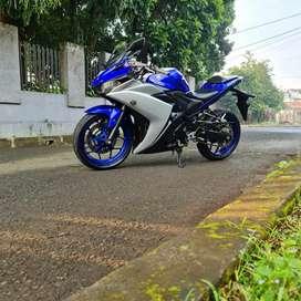 Yamaha YZF-R25 ABS Racing Blue 2016 Mulus