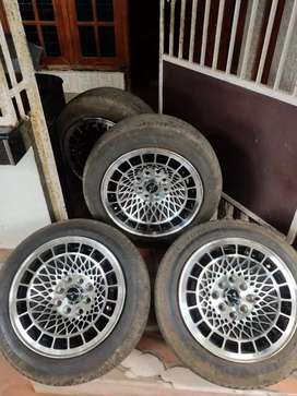 alloy with tyre