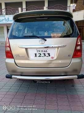 Toyota Innova 2.5 GX (Diesel) 8 Seater BS IV, 2008, Diesel