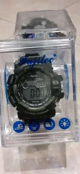 Jam Tangan Digital Pria Original Fujitec