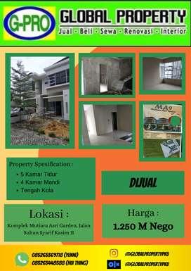 Dijual Rumah Baru Komplek Mutiara Asri Tengah Kota