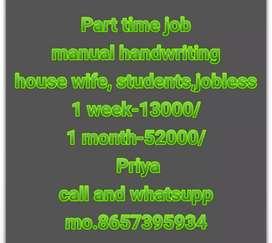 Very very simple and easy handwriting Job