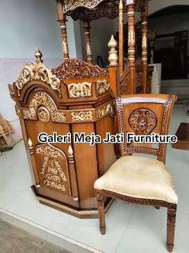 Mimbar masjid podium feed J363 kode