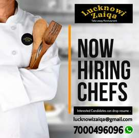 Chef required (Indian, Chinese )