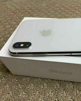 iPhone X 256gb @50,000/