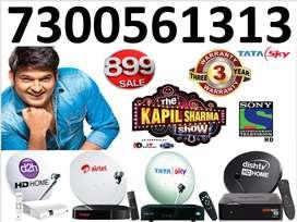 Airtel TV & Tata Sky New HD Box Full Summer Offer Only-899 Free Dish T