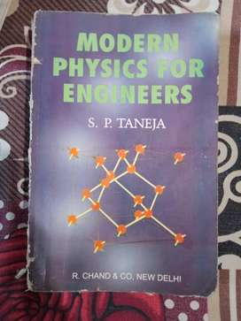 MODERN PHYSICS FOR ENGINEERS BY S. P. TANEJA